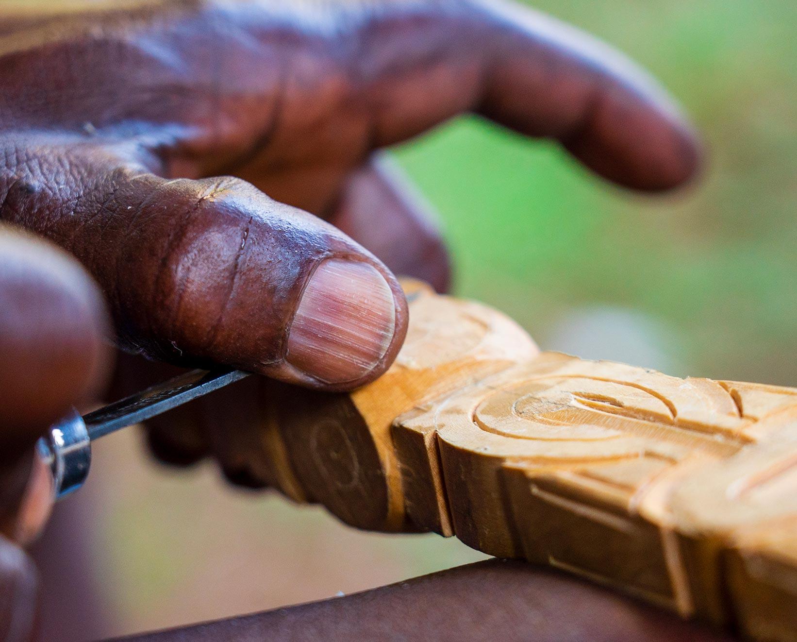 artisanat en Guyane